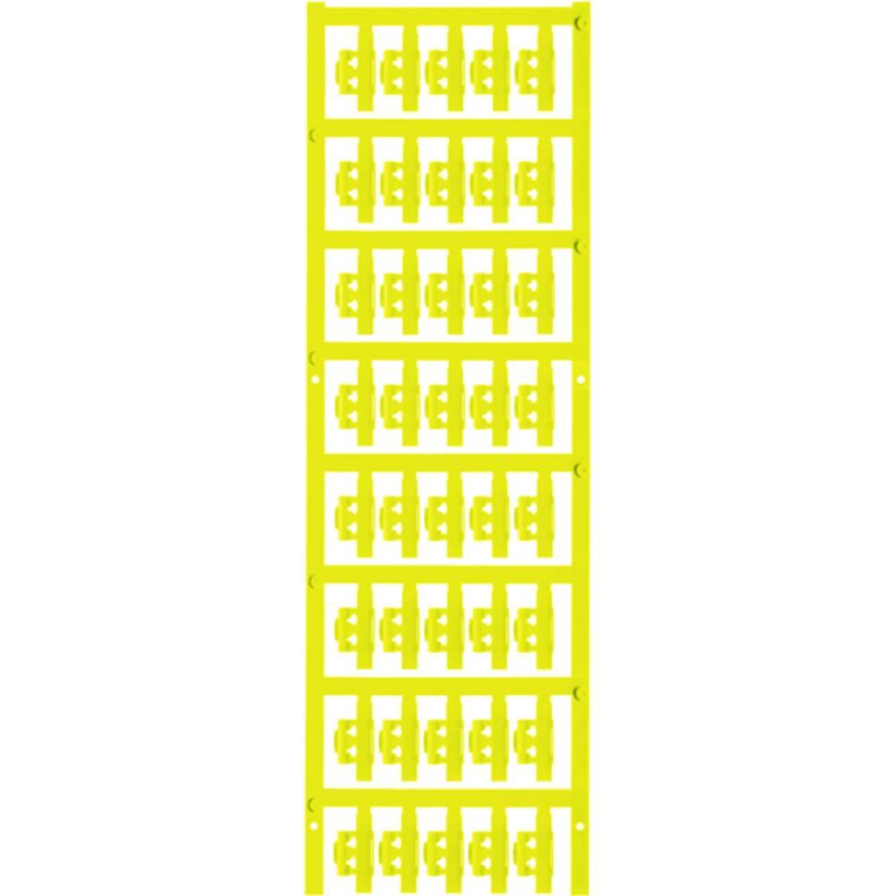 Markeringsophæng Weidmüller SFC 0/21 NEUTRAL GE 1813210000 200 stk Antal markører 200 Gul