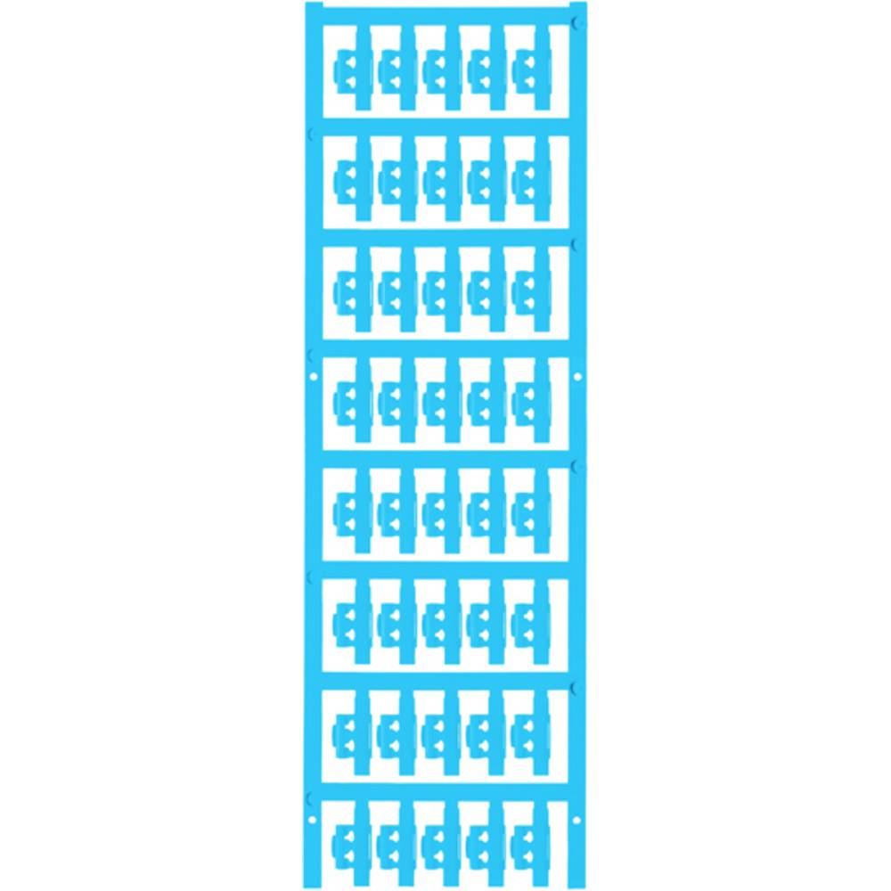 Markeringsophæng Weidmüller SFC 0/21 NEUTRAL BL 1813220000 200 stk Antal markører 200 Atolblå