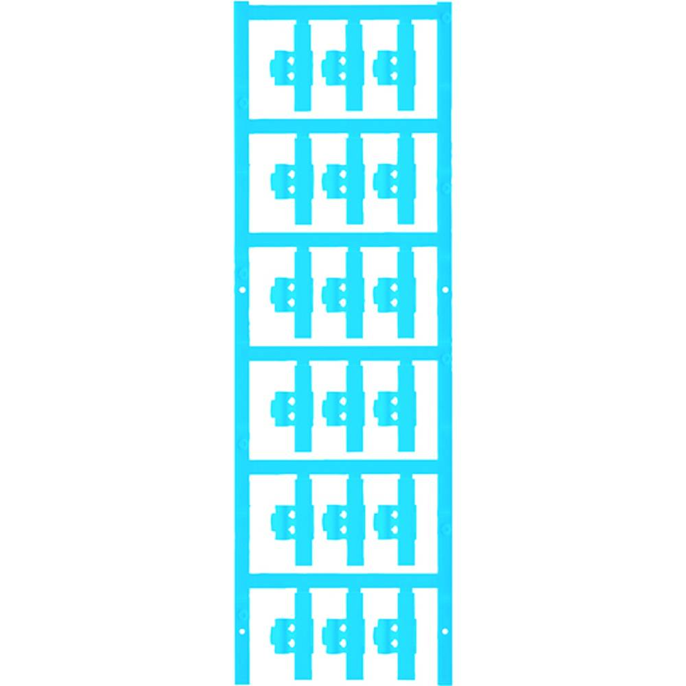 Markeringsophæng Weidmüller SFC 0/30 NEUTRAL BL 1813270000 150 stk Antal markører 150 Atolblå