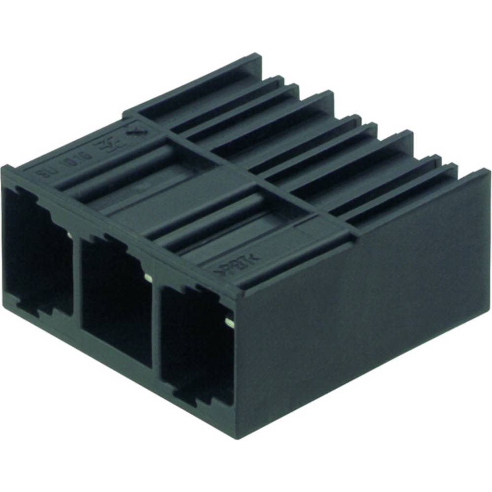 Vtični konektor za tiskana vezja črne barve Weidmüller 1813330000 vsebuje: 50 kosov