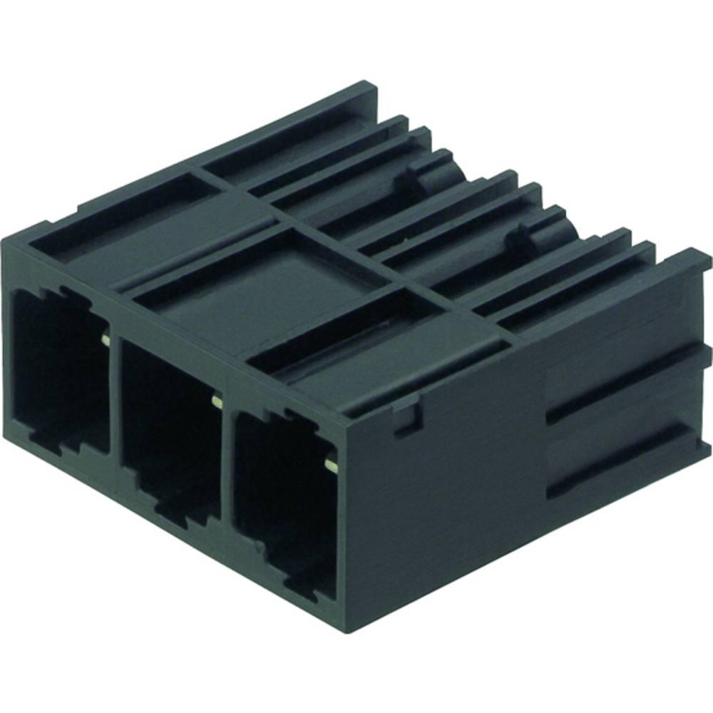 Vtični konektor za tiskana vezja črne barve Weidmüller 1813500000 vsebuje: 50 kosov
