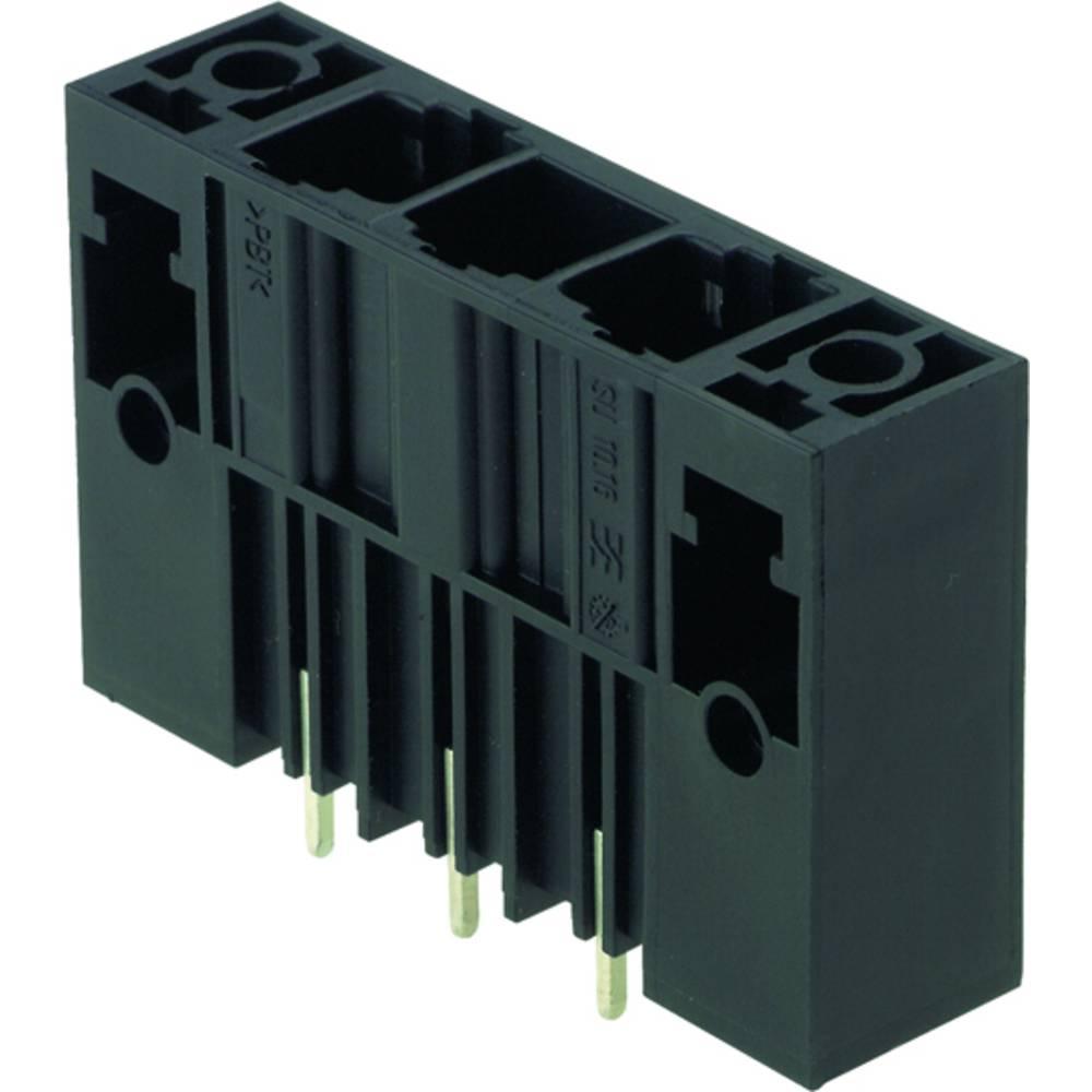Vtični konektor za tiskana vezja črne barve Weidmüller 1813720000 vsebuje: 20 kosov
