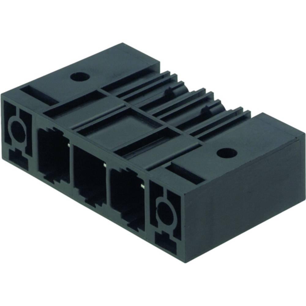 Vtični konektor za tiskana vezja črne barve Weidmüller 1813800000 vsebuje: 20 kosov