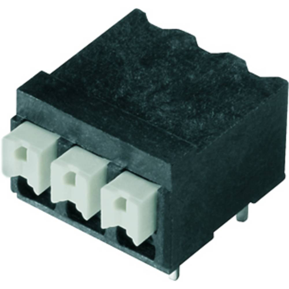 Fjederkraftsklemmeblok Weidmüller LSF-SMT 3.81/02/90 3.5SN BK TU 1.50 mm² Poltal 2 Sort 69 stk