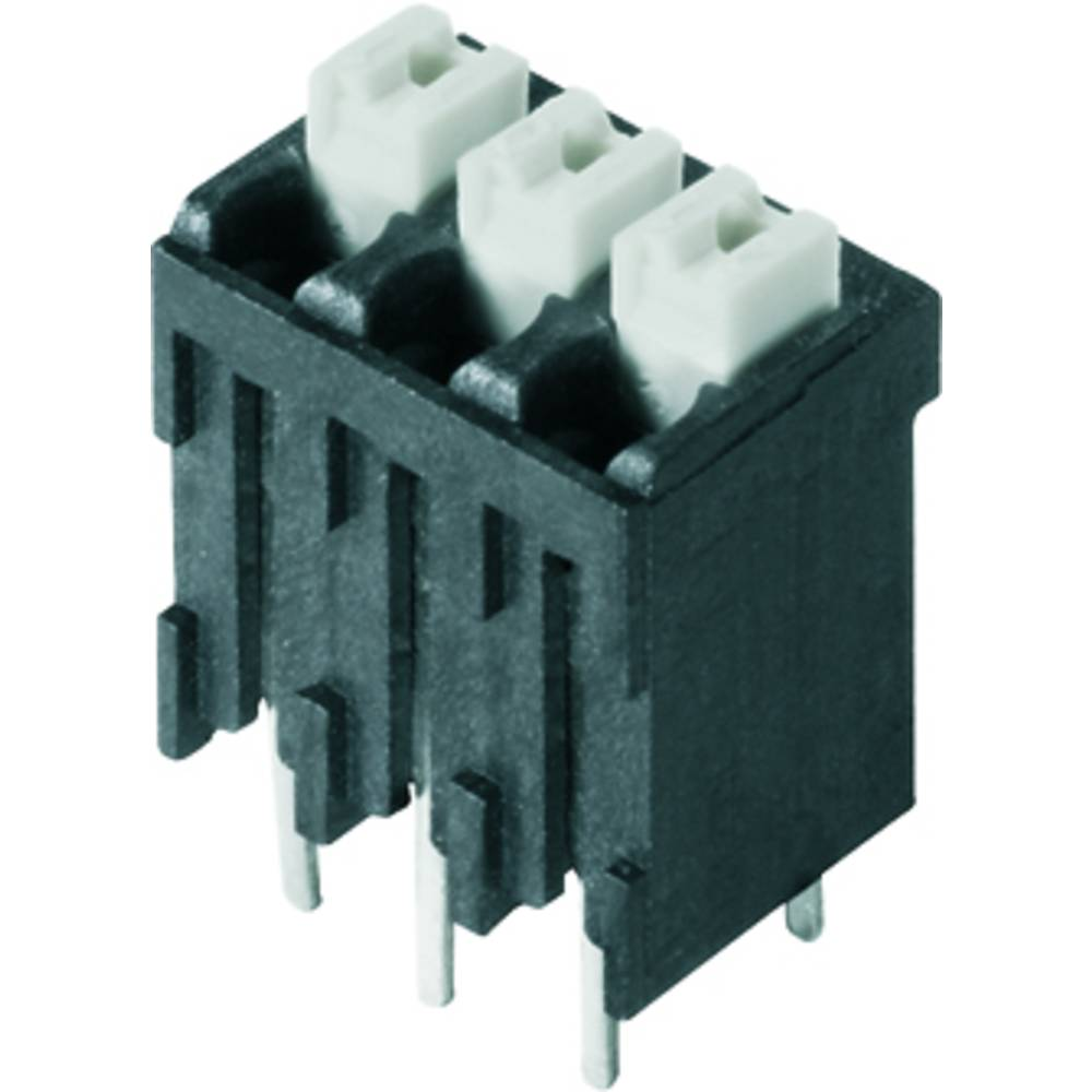 Fjederkraftsklemmeblok Weidmüller LSF-SMT 3.81/03/180 3.5SN BK TU 1.50 mm² Poltal 3 Sort 46 stk