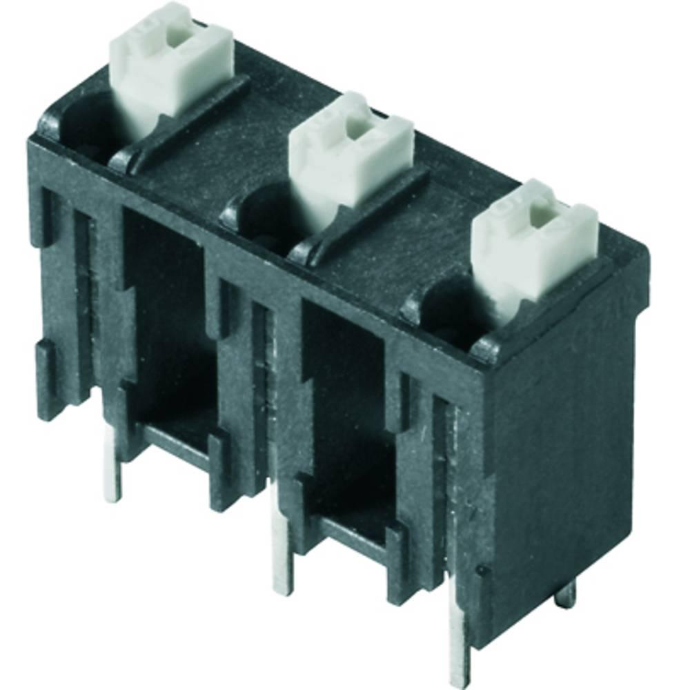 Fjederkraftsklemmeblok Weidmüller LSF-SMT 7.62/04/180 3.5SN BK TU 1.50 mm² Poltal 4 Sort 20 stk