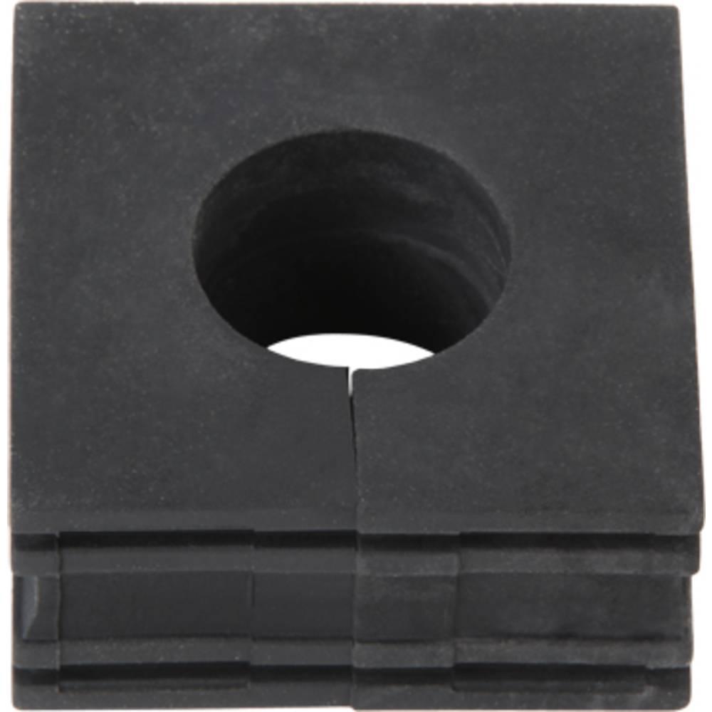 Kabelska uvodnica premer sponke (maks.) 21 mm Weidmüller CABTITE KT 20 B 10 kos