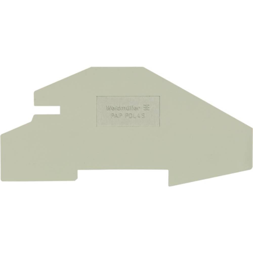 endeplade PAP PDL4S 1837070000 Weidmüller 20 stk