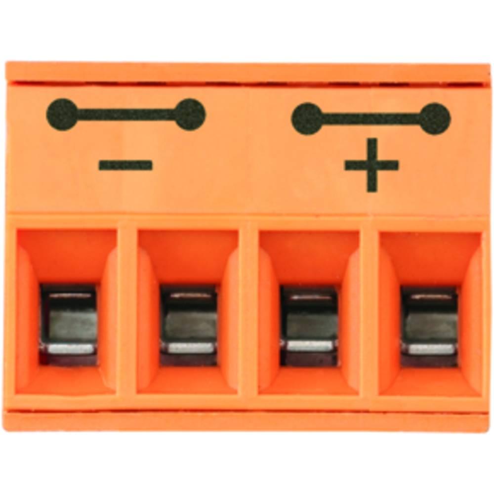 Konektor tiskanega vezja Weidmüller vsebuje: 90 kosov