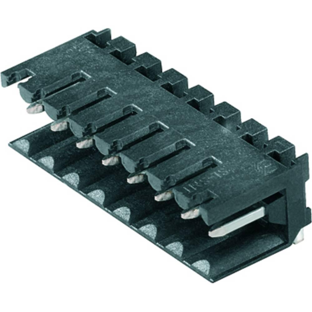 Vtični konektor za tiskana vezja črne barve Weidmüller 1841640000 vsebuje: 100 kosov