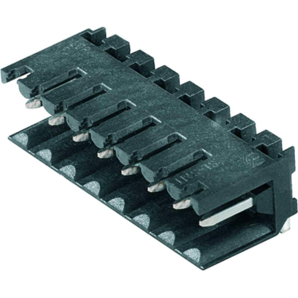 Vtični konektor za tiskana vezja črne barve Weidmüller 1841710000 vsebuje: 50 kosov