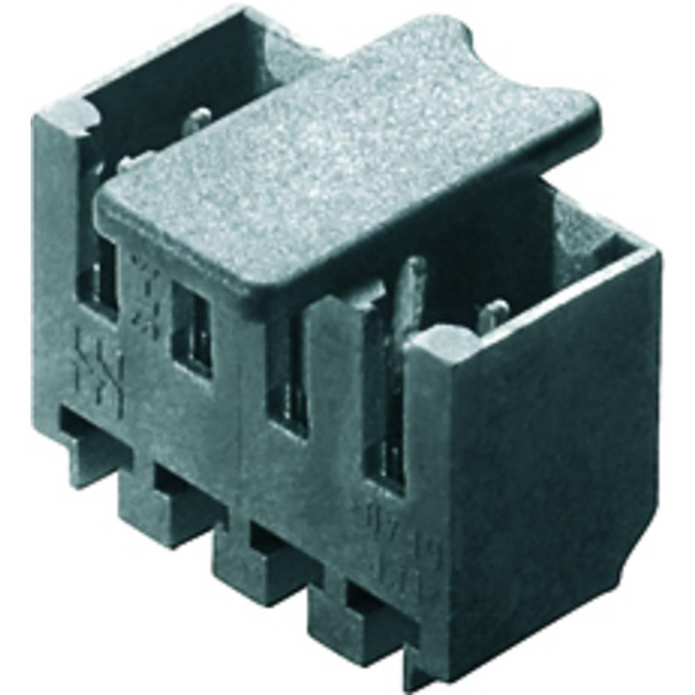 Vtični konektor za tiskana vezja črne barve Weidmüller 1842440000 vsebuje: 50 kosov