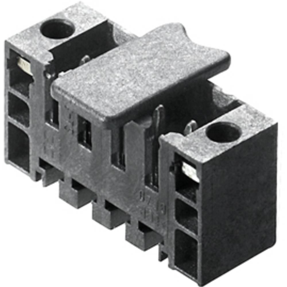 Vtični konektor za tiskana vezja črne barve Weidmüller 1842890000 vsebuje: 50 kosov