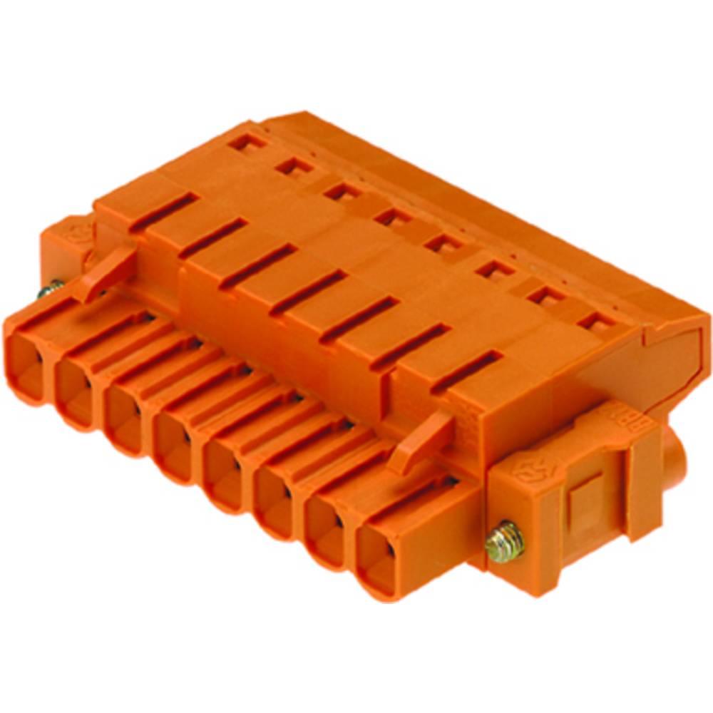 Tilslutningskabinet-kabel BL/SL (value.1360602) Samlet antal poler 8 Weidmüller 1844050000 Rastermål: 5.08 mm 36 stk