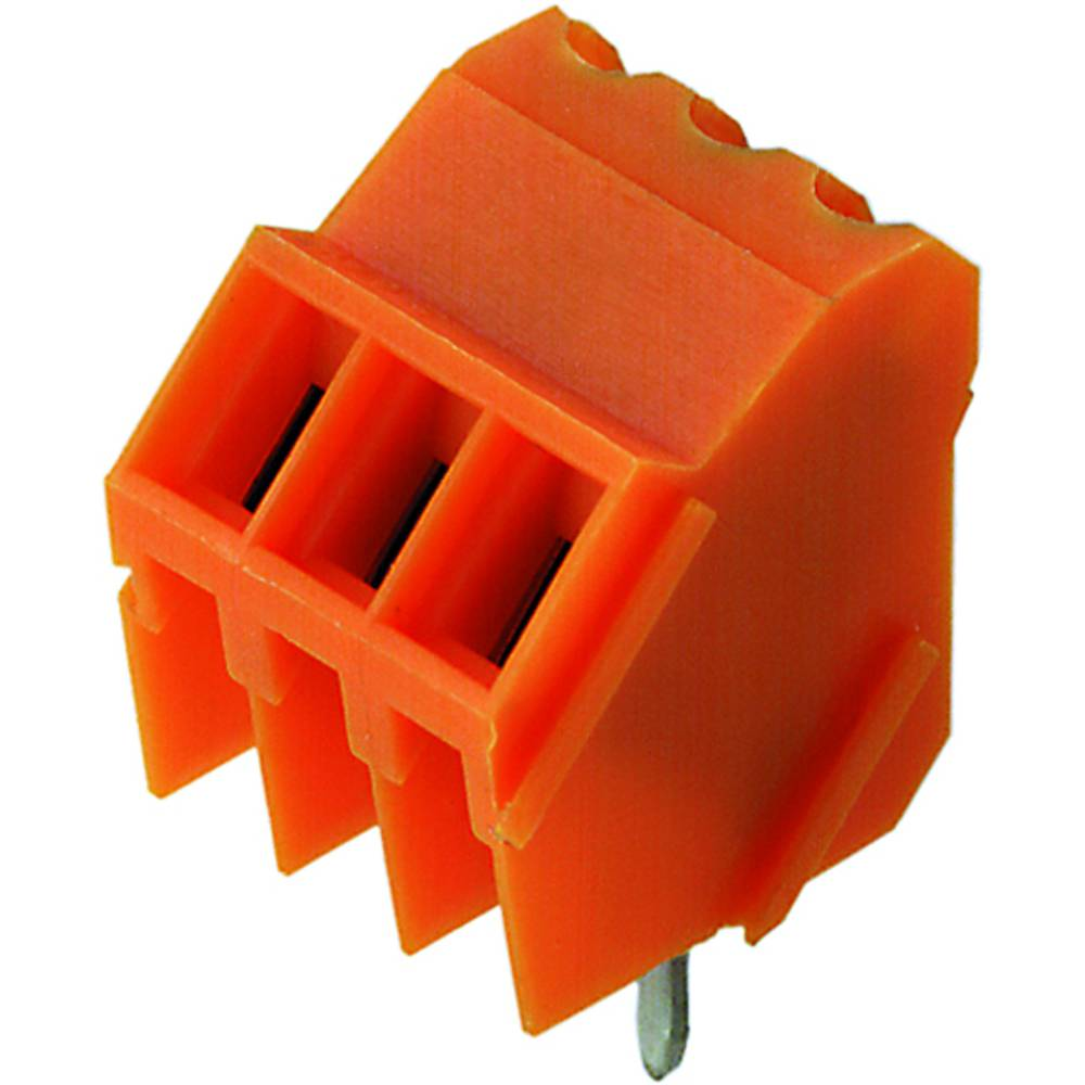 Skrueklemmeblok Weidmüller LM 3.50/09/135 3.2SN OR BX 1.50 mm² Poltal 9 Orange 50 stk