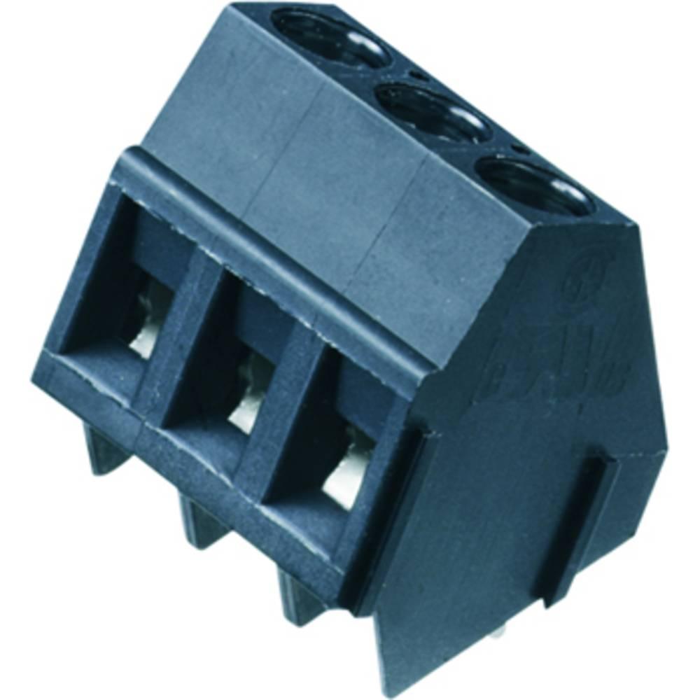 Skrueklemmeblok Weidmüller LM 5.00/06/135 3.5SN OR BX 2.50 mm² Poltal 6 Orange 50 stk