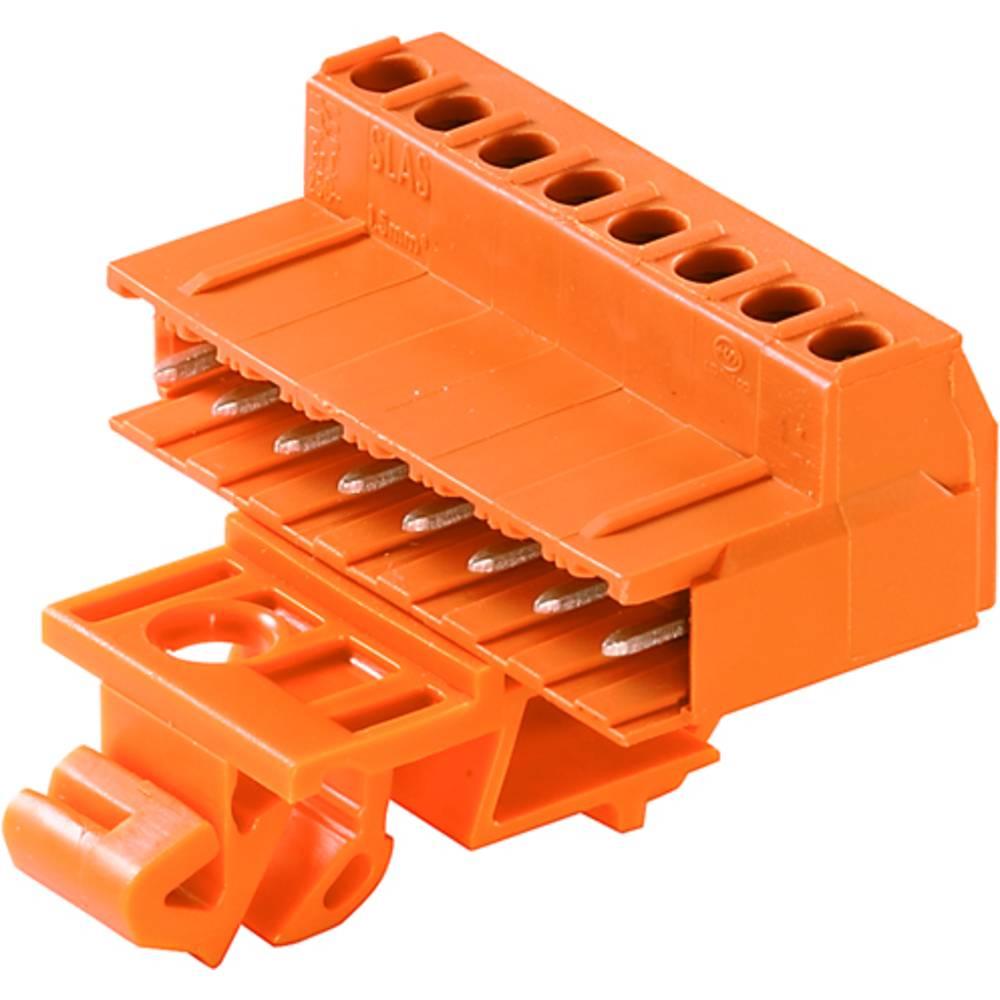 Konektor tiskanega vezja Weidmüller vsebuje: 16 kosov