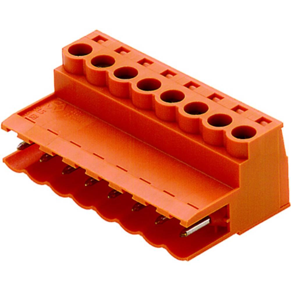 Stiftkabinet-kabel BL/SL 5.08 Samlet antal poler 4 Weidmüller 1846050000 Rastermål: 5.08 mm 20 stk