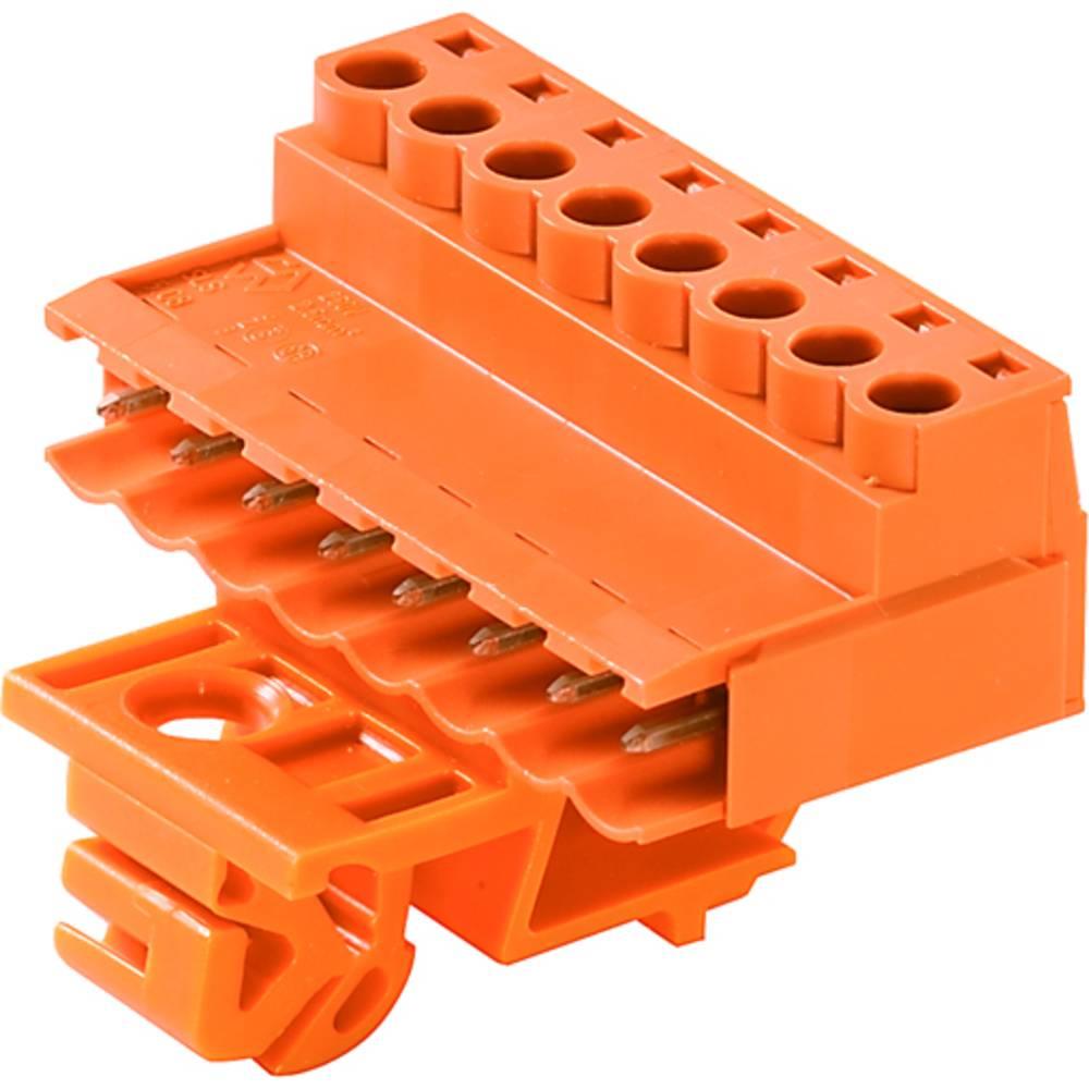 Stiftkabinet-kabel BL/SL 5.08 Samlet antal poler 8 Weidmüller 1846070000 Rastermål: 5.08 mm 10 stk
