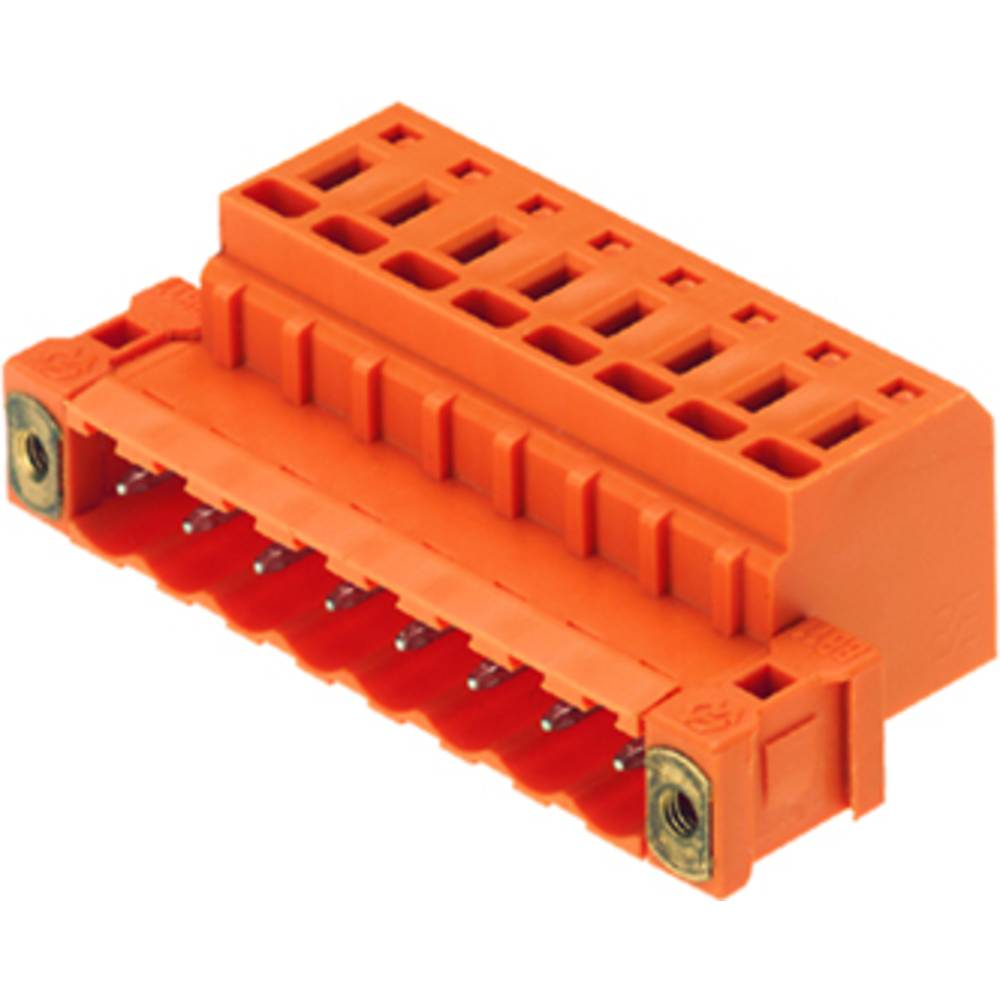 Pinski konektor (standarden) Weidmüller 1846510000, mere: 5.08 mm 100 kosov