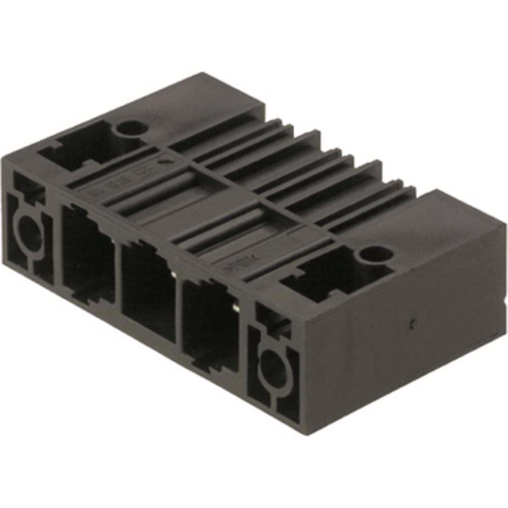 Vtični konektor za tiskana vezja črne barve Weidmüller 1851100000 vsebuje: 20 kosov