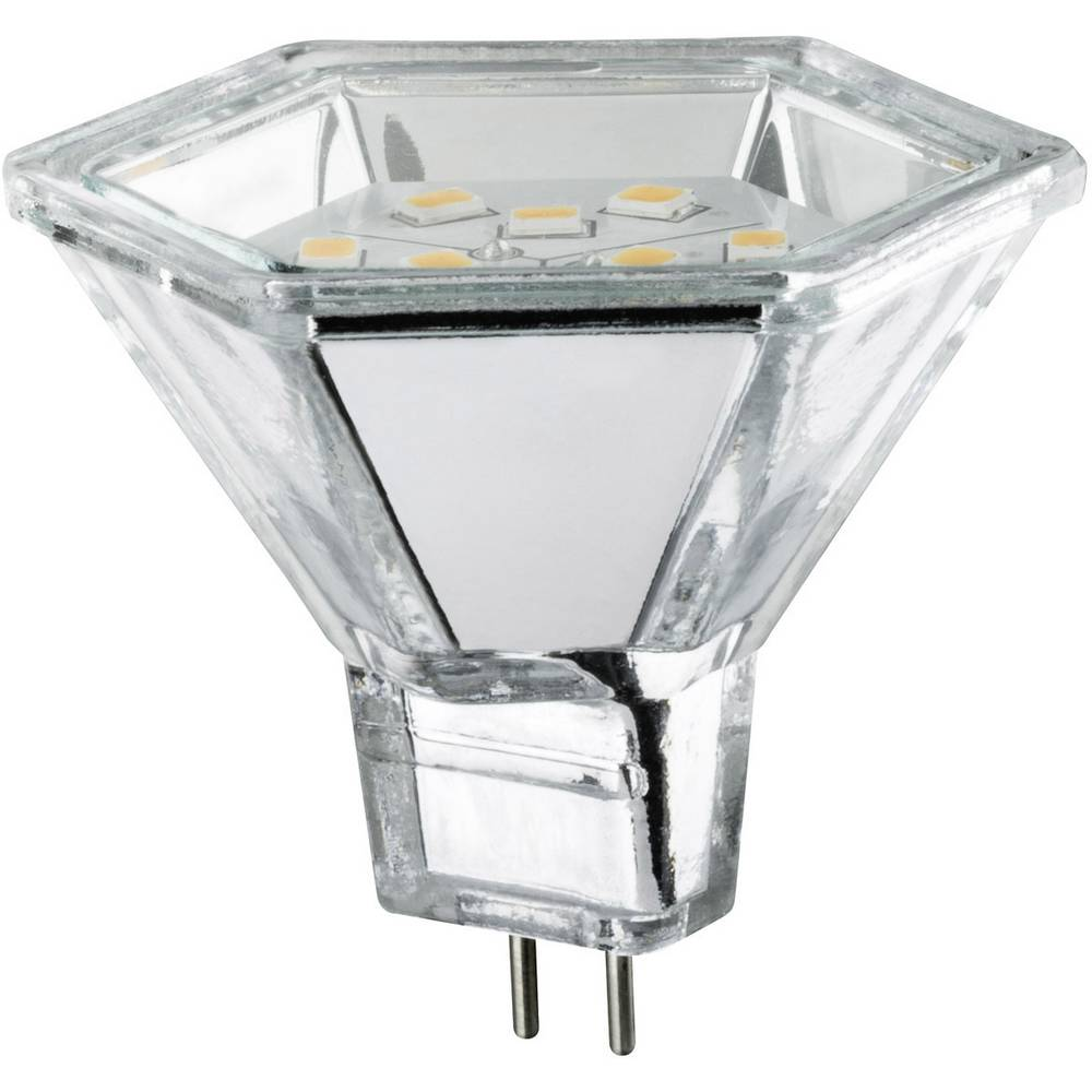 LED (enobarvna) Paulmann 12 V GU5.3 2 W toplo-bele barve EEK: A reflektor () 51 mm 1 kos