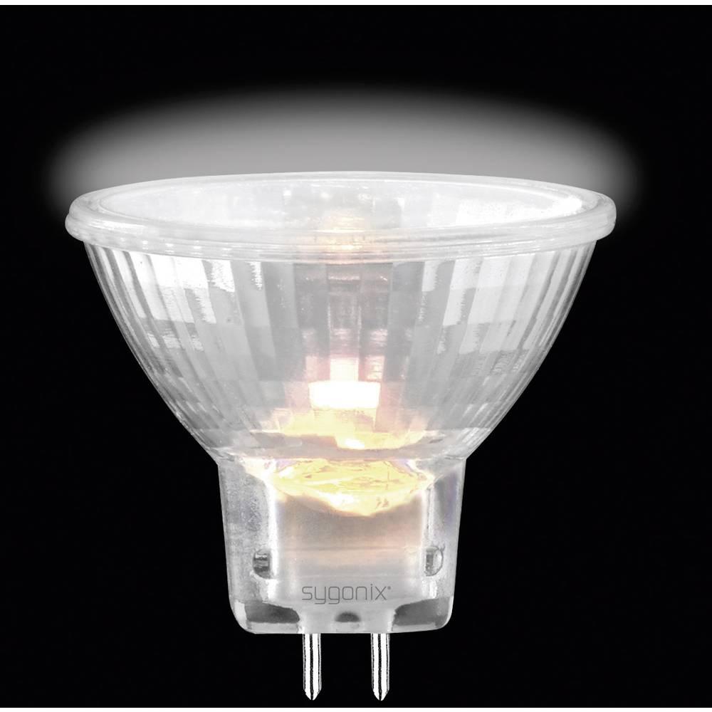 Eco halogenska žarnica Sygonix EcoMR11, G4, 35 W = 42 W, toplabela svetloba, reflektorska 28929V