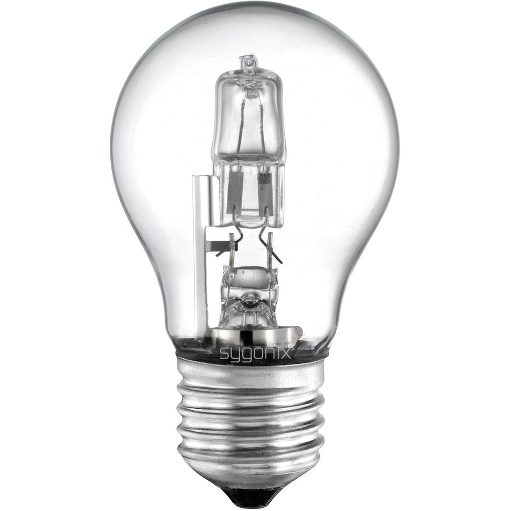 Eco halogenska žarnica Sygonix E27, 28 W = 40 W, topla bela, hruškasta oblika 28922X