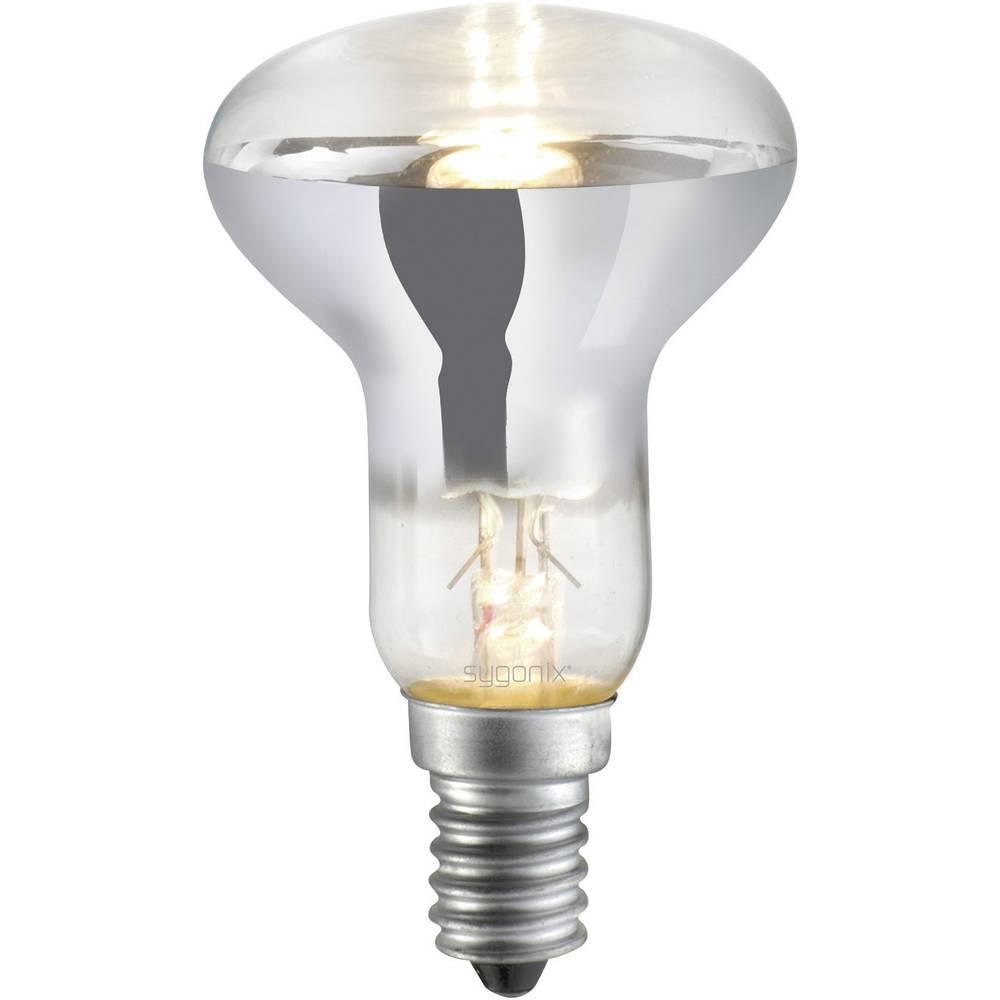 Eco halogenska žarnica Sygonix E14, 28 W = 40 W, topla bela, reflektorska 28928Q