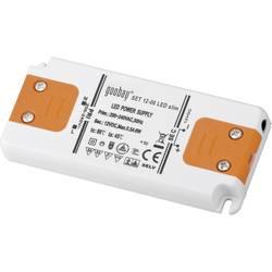 LED-strömförsörjning 0-6 W Goobay SET 12-06 LED slim
