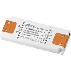 Goobay SET 12-12 LED slim LED gonilnik LED napajalnik 12 W 12 V/DC 1000 mA, konstantna napetost