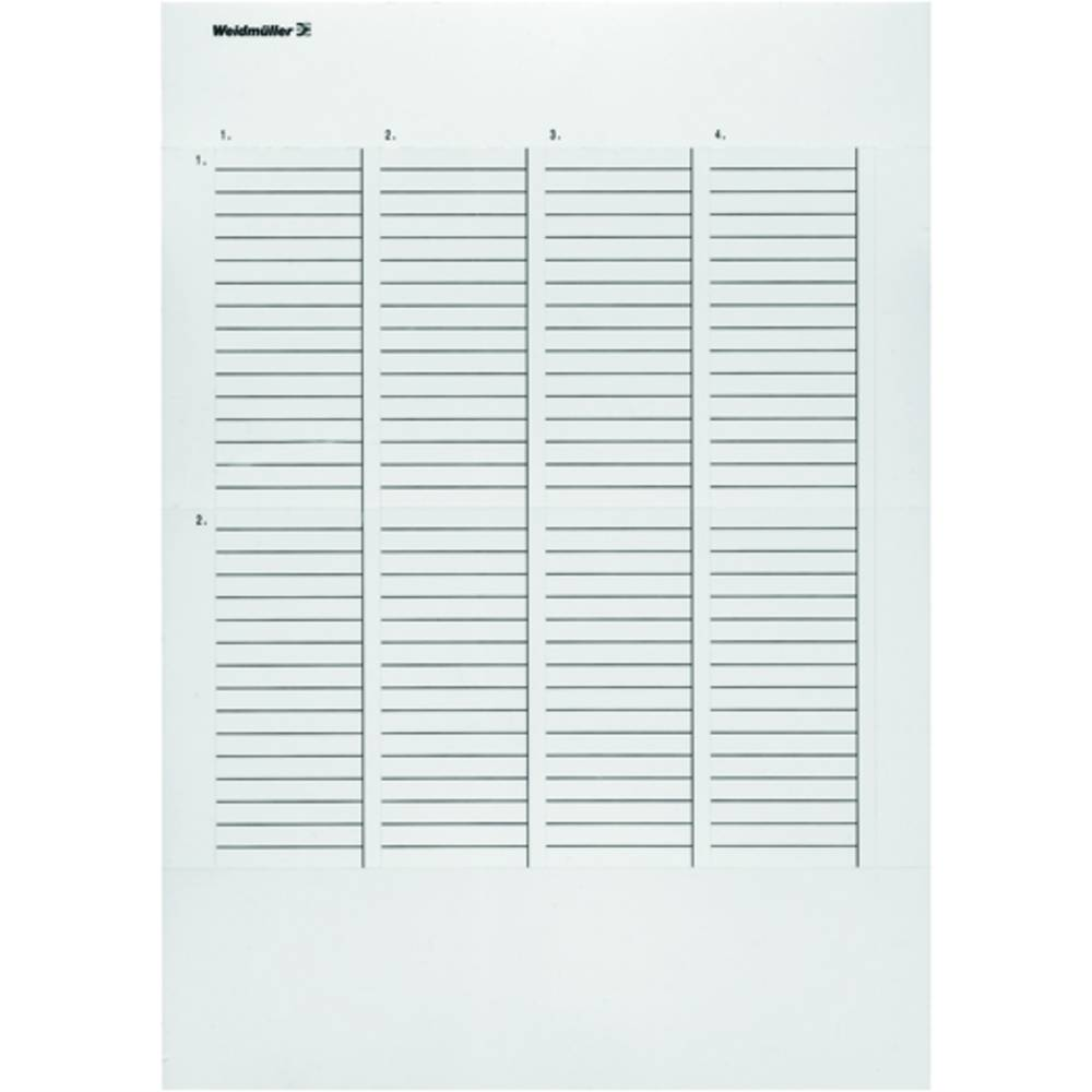 Printsystem printer Weidmüller LM MT300 27/8 GE 1861510000 10 stk Antal markører 1980 Gul