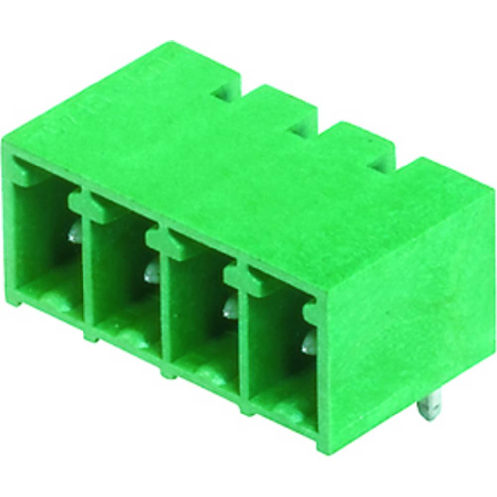 Vtični konektor za tiskana vezja črne barve Weidmüller 1862800000 vsebuje: 50 kosov