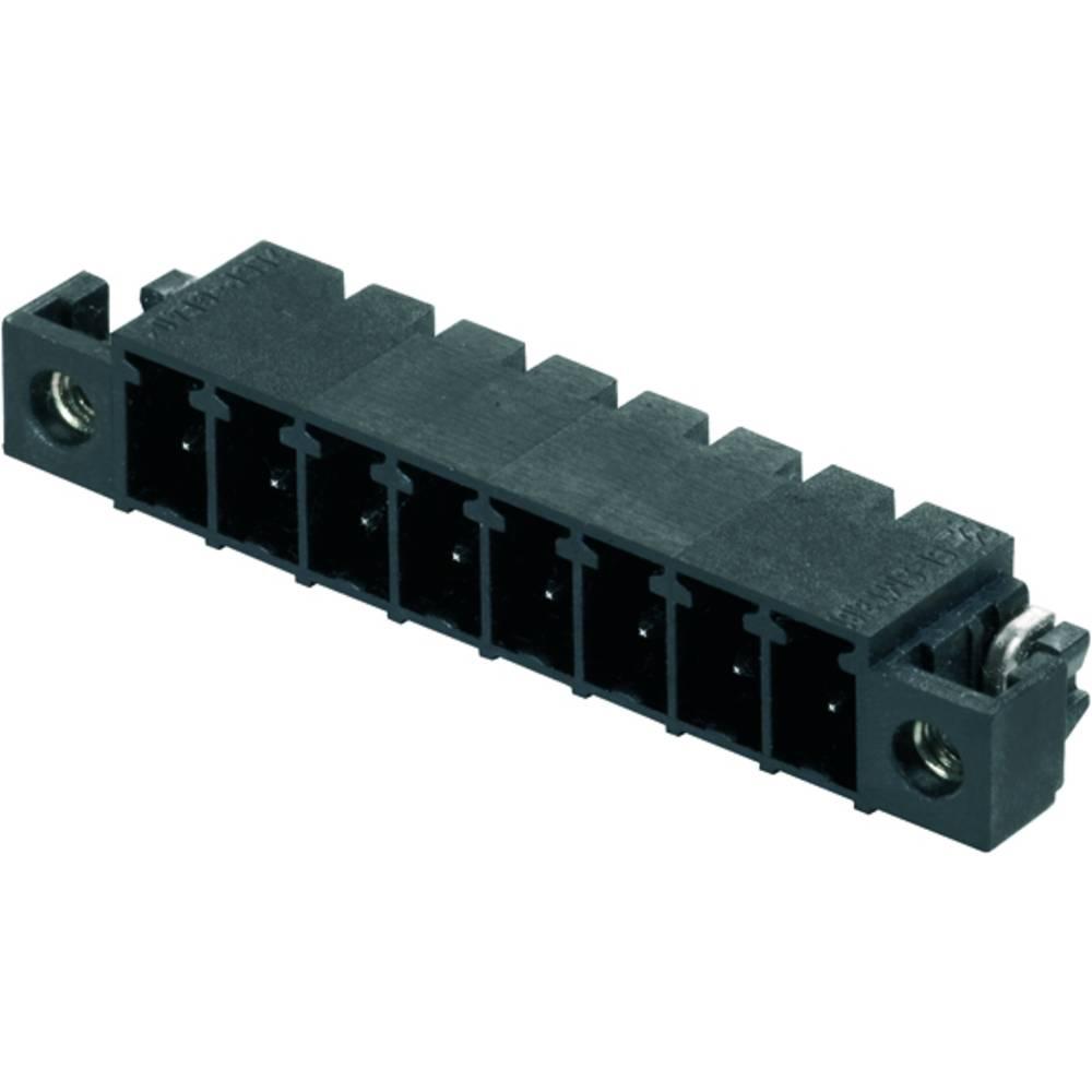 Vtični konektor za tiskana vezja črne barve Weidmüller 1862850000 vsebuje: 400 kosov