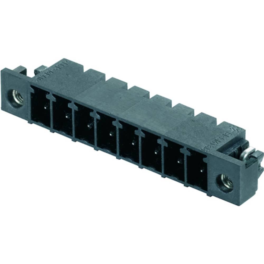 Vtični konektor za tiskana vezja črne barve Weidmüller 1863810000 vsebuje: 50 kosov