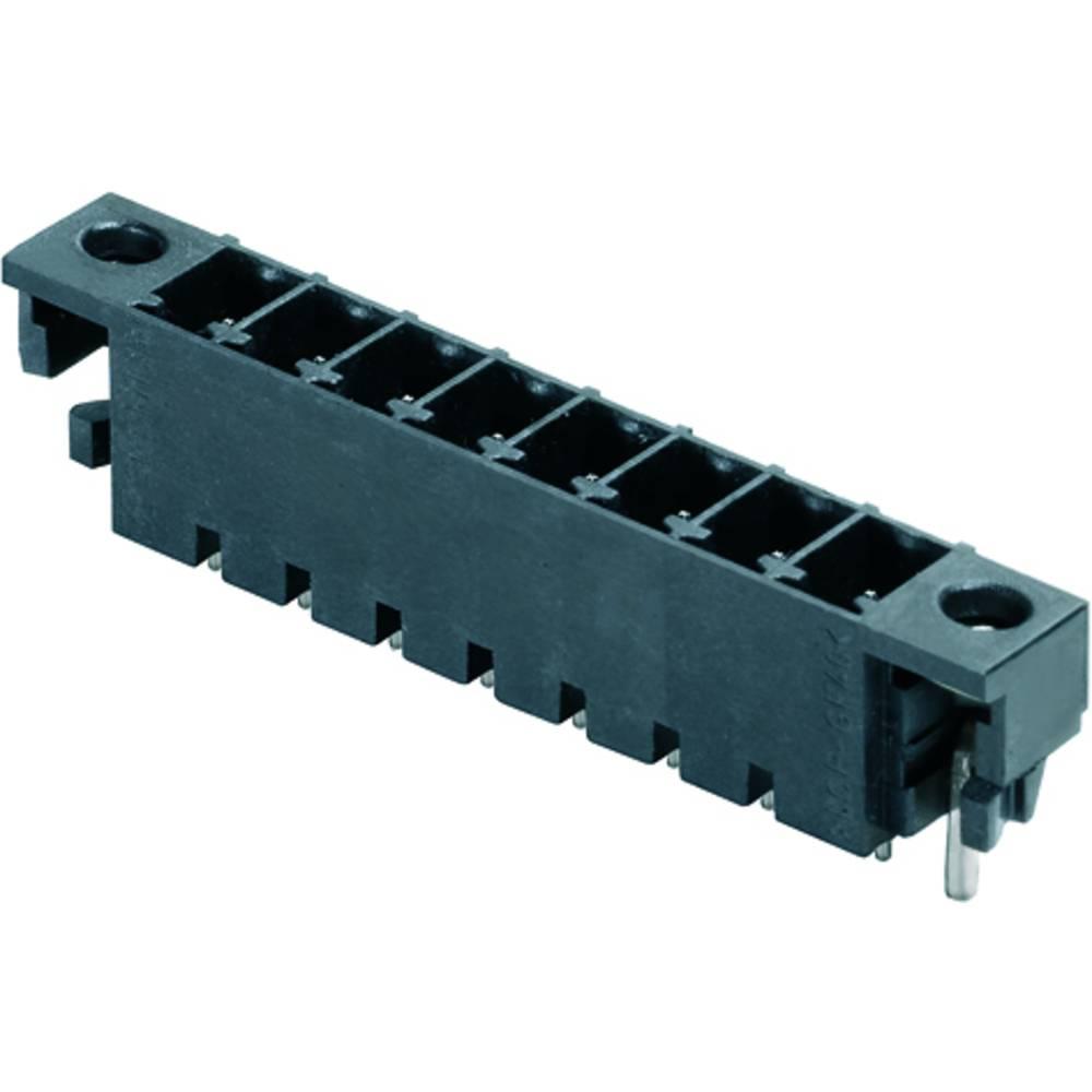 Vtični konektor za tiskana vezja črne barve Weidmüller 1864080000 vsebuje: 50 kosov