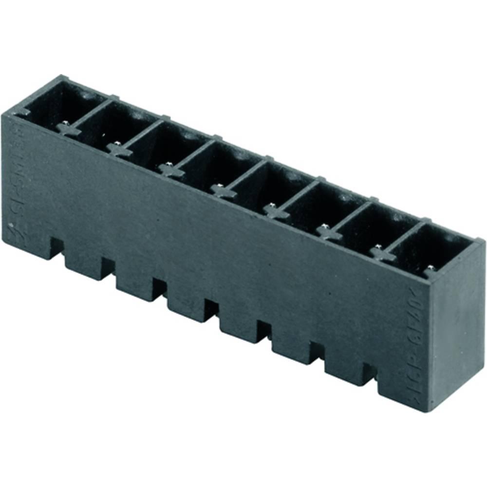 Stiftkabinet-printplade BC/SC (value.1360601) Samlet antal poler 7 Weidmüller 1864320000 Rastermål: 3.81 mm 300 stk