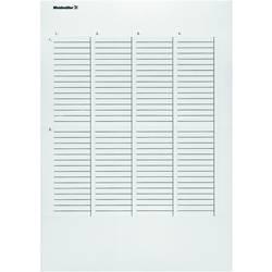 Märkningsystem skrivare Weidmüller ET S7-12/50-TU-A4 1865440000 10 st Antal märkningar 840 Turkos