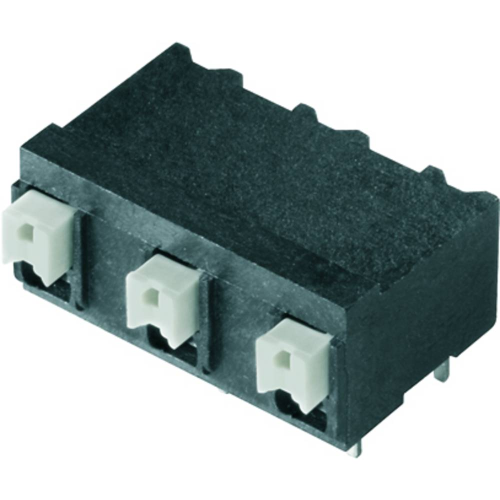 Fjederkraftsklemmeblok Weidmüller LSF-SMT 7.62/04/90 1.5SN BK TU 1.50 mm² Poltal 4 Sort 20 stk
