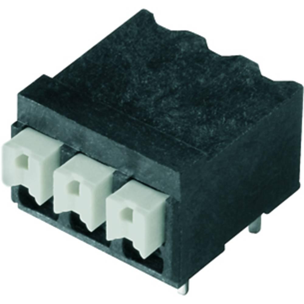 Fjederkraftsklemmeblok Weidmüller LSF-SMT 3.81/06/90 1.5SN BK TU 1.50 mm² Poltal 6 Sort 23 stk