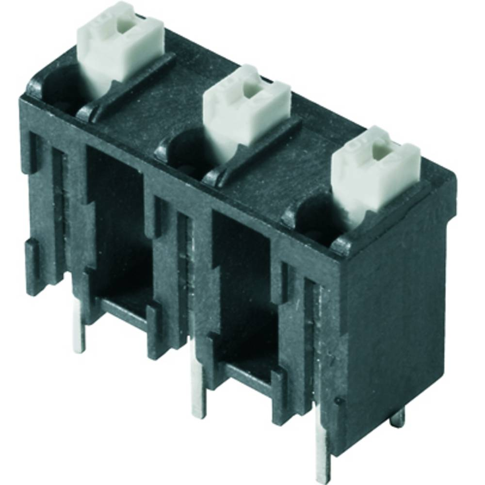 Fjederkraftsklemmeblok Weidmüller LSF-SMT 7.62/02/180 1.5SN BK TU 1.50 mm² Poltal 2 Sort 46 stk