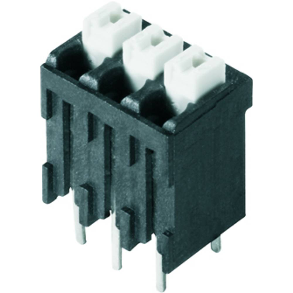 Fjederkraftsklemmeblok Weidmüller LSF-SMT 3.81/03/180 1.5SN BK TU 1.50 mm² Poltal 3 Sort 46 stk