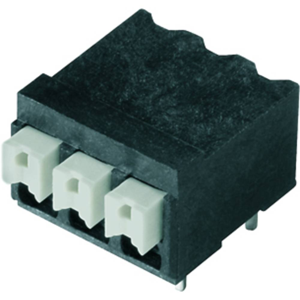 Fjederkraftsklemmeblok Weidmüller LSF-SMT 3.81/09/90 3.5SN BK RL 1.50 mm² Poltal 9 Sort 265 stk