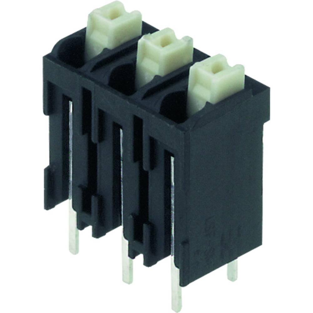 Fjederkraftsklemmeblok Weidmüller LSF-SMT 5.00/05/180 3.5SN BK RL 1.50 mm² Poltal 5 Sort 175 stk