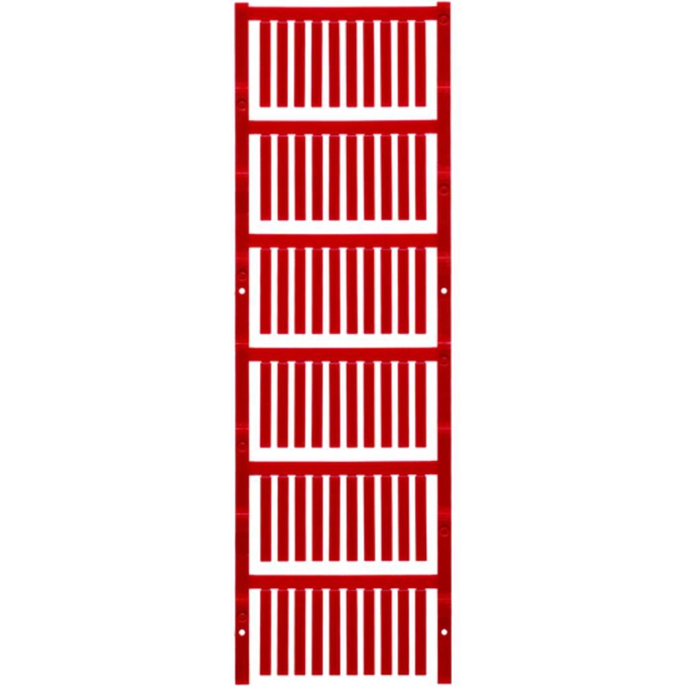 Makering af apparater Weidmüller TM-I 30 MC NEUTRAL RT 1876380000 300 stk Antal markører 300 Rød