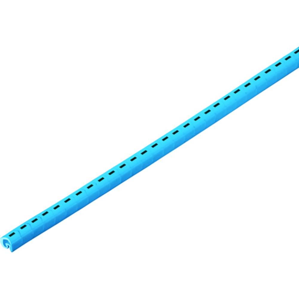 Påtrykt klæbemærkat Weidmüller CLI C 1-9 GE/SW 720-739 2-PAG RL 1878260720 Gul 1000 stk