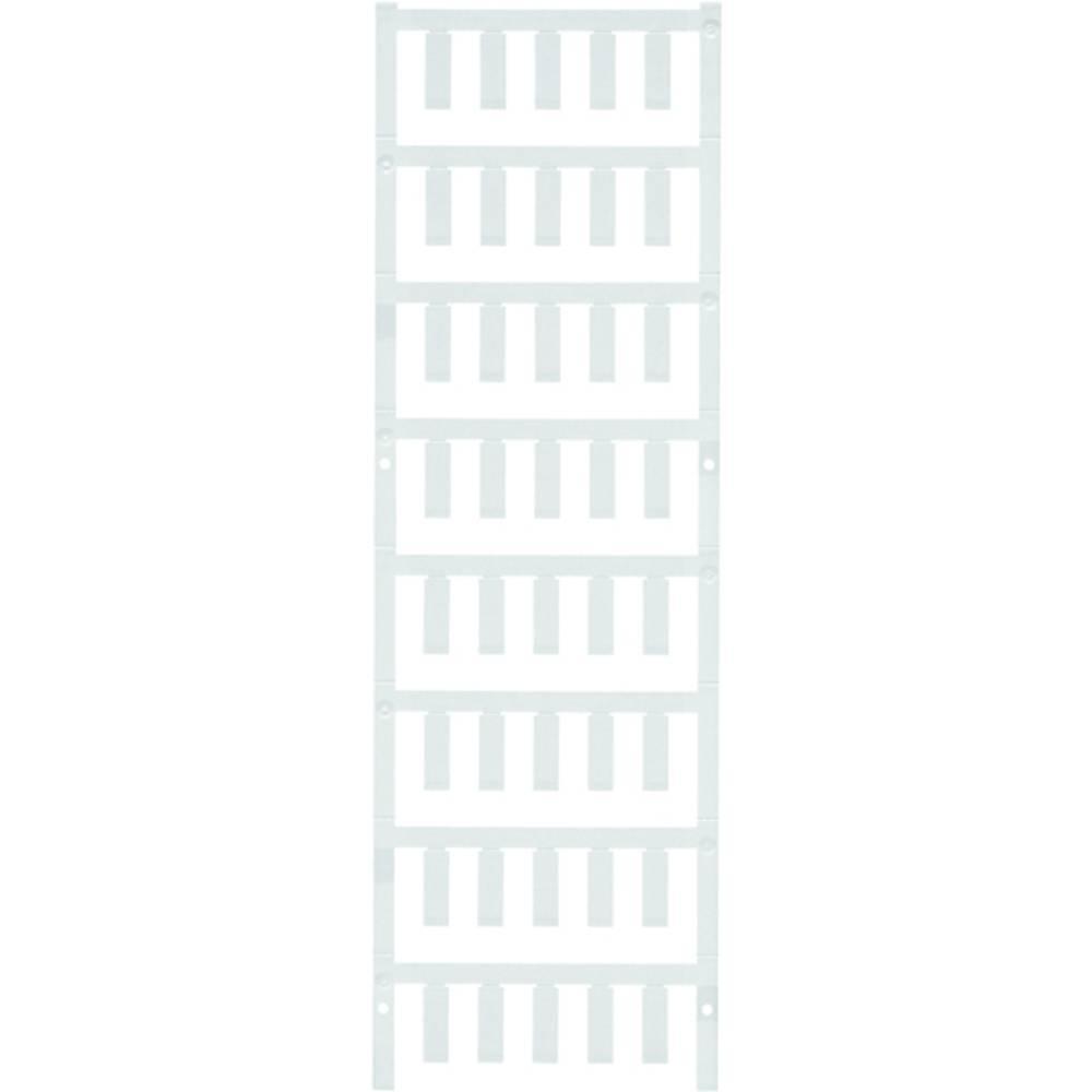 Makering af apparater Weidmüller ESG 6/17 K MC NEUTR. WS 1880120000 200 stk Antal markører 200 Hvid