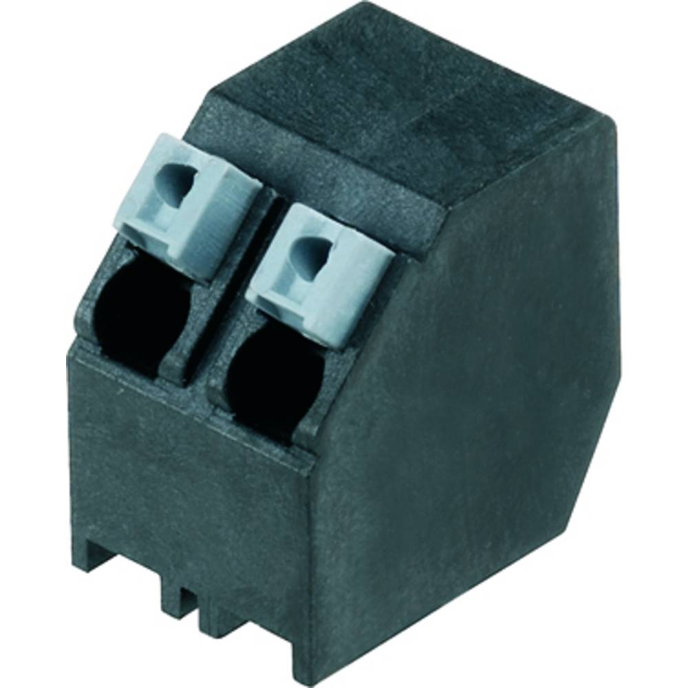 Fjederkraftsklemmeblok Weidmüller LSF-SMT 5.00/04/135 1.5SN BK TU 1.50 mm² Poltal 4 Sort 28 stk