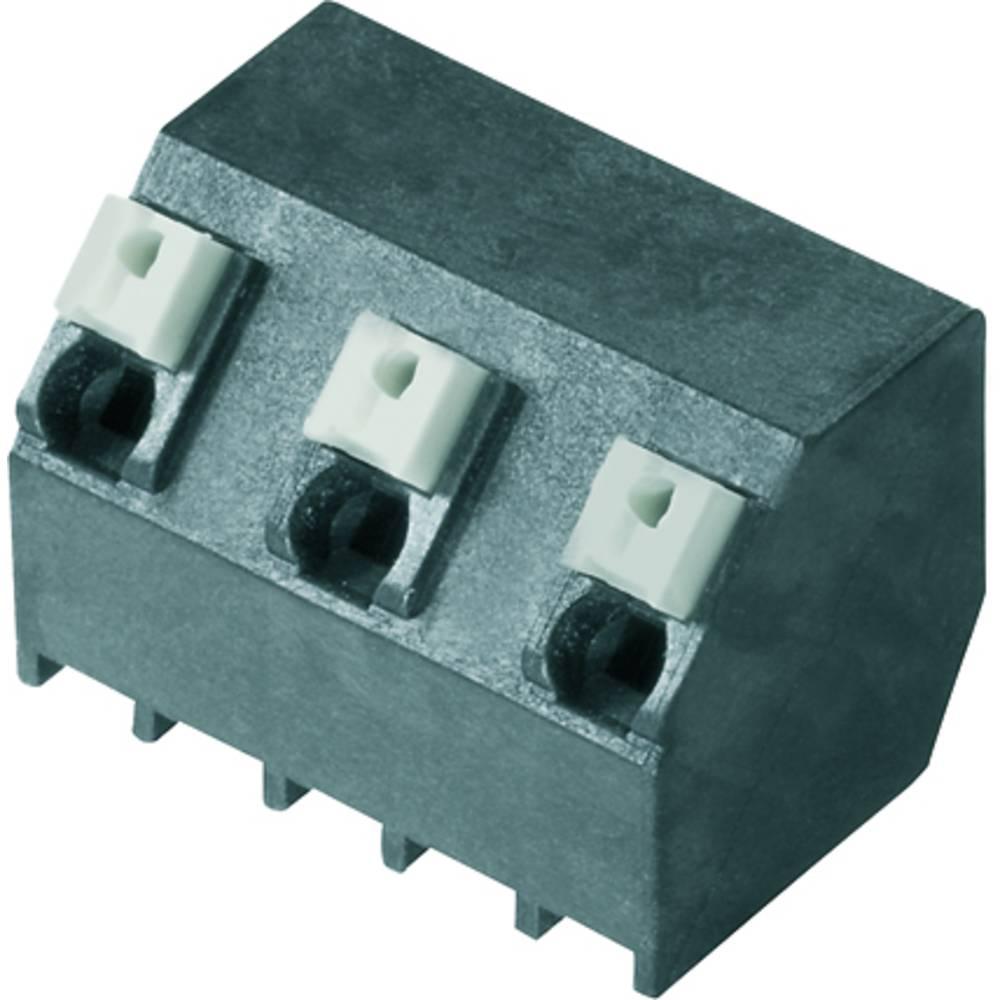 Fjederkraftsklemmeblok Weidmüller LSF-SMT 7.62/03/135 1.5SN BK TU 1.50 mm² Poltal 3 Sort 28 stk