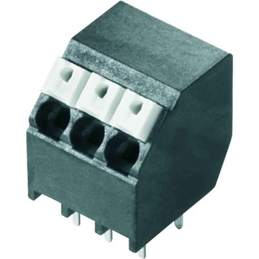 Fjederkraftsklemmeblok Weidmüller LSF-SMT 3.50/03/135 3.5SN BK TU 1.50 mm² Poltal 3 Sort 49 stk